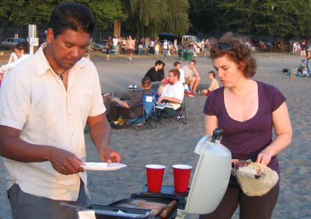 Barbecue Golden Gardens