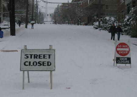 Queen Anne Hill fermée