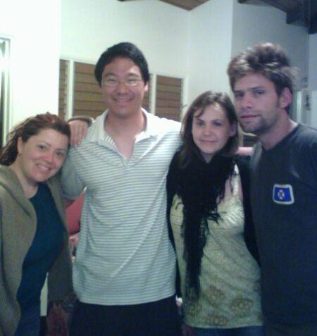 Audrey, Mark, Laetitia et Florent