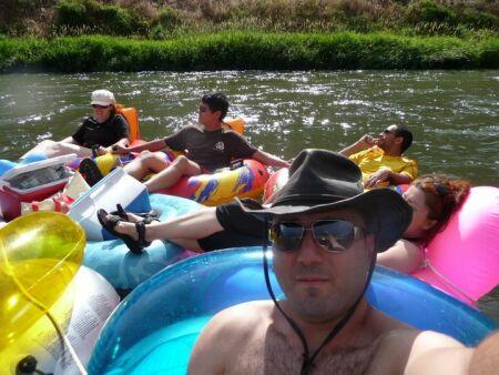Yakima river tubing